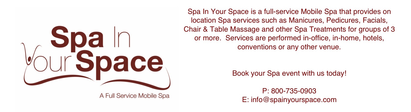 """Bringing Unique Spa Experiences to Your Location"""